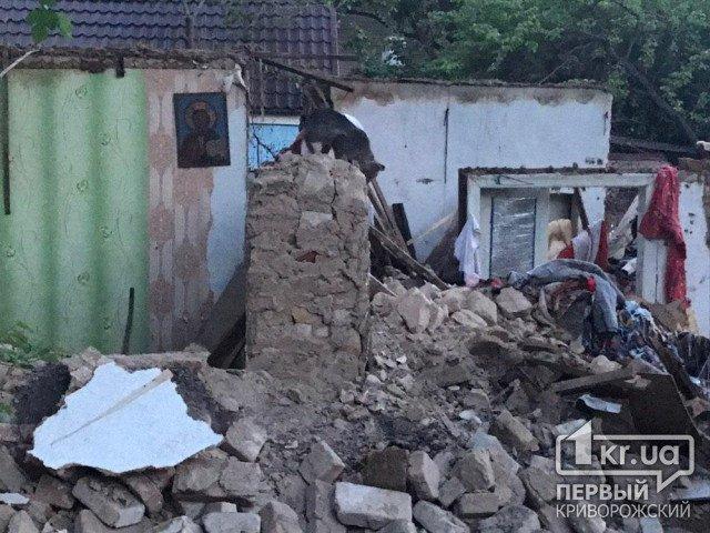 В Криворожском районе обнаружили труп пенсионерки под завалами после пожара