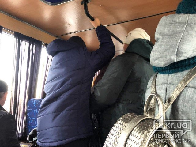 Маршрутчик оштрафован на 17 тысяч гривен за перевозку стоячих пассажиров