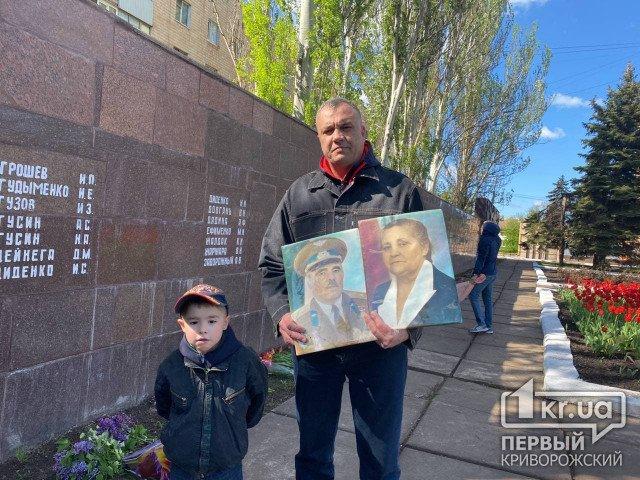 Ко Дню победы в Саксаганском районе города состоялось возложение цветов