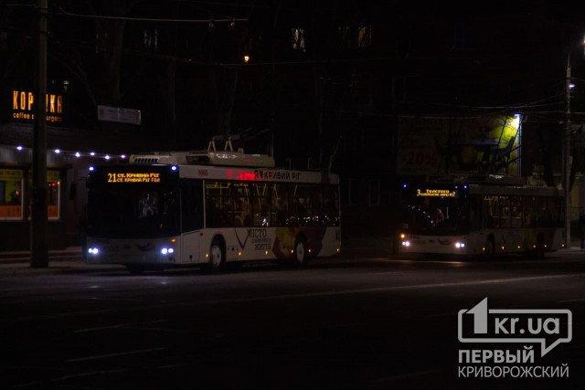 Расписание движения троллейбуса №3 в Кривом Роге